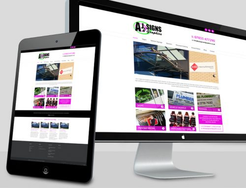 Creating more online enquiries for AJ Signs