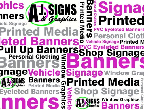 AJ Signs offer a lot more than Shop Signage
