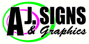 AJ Signs and Design Logo