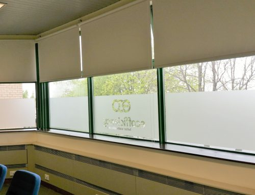 Frosted Window Graphics for Eco Efficiency