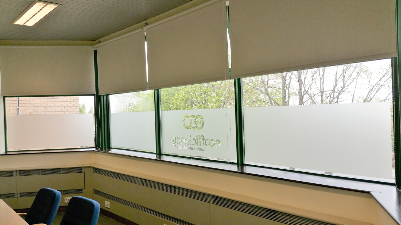 Frosted window graphics 1